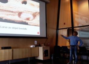 Eirik forteller om skadedyr i Rogaland