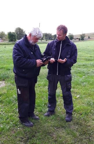 Ted-Johnny Taraldsen og Odd-Geir Rosland
